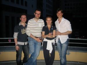 1. Chor Sonntag 2008 Mit Uli Scherbel, Tom Bitterlich, Christian A. Müller