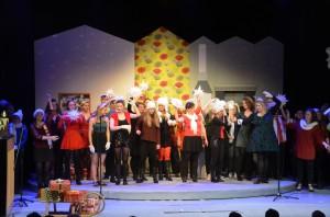 Weihnachtskonzert 2015 / Comödie Dresden