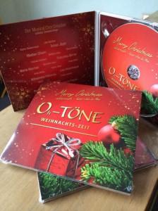 Da ist sie - unsere Weihnachts-CD