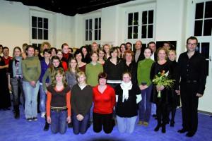 Der neue Musical-Chor am 3.3.2008