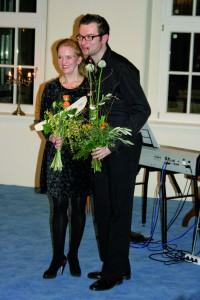 Die OhT Gründer Christian A. Müller + Cornelia Drese 3.3.2008 - Eröffnung 2008