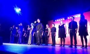 Konzert der Musical Gentlemen in Dresden / Finale