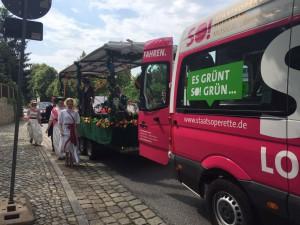 Elbhangfest - mit My Fair Lady für die Staatsoperette Dresden
