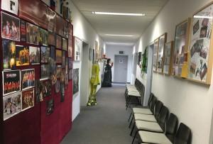 Der Flur - unser kleines Museum
